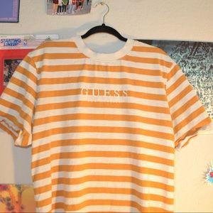 Vintage striped guess T-shirt